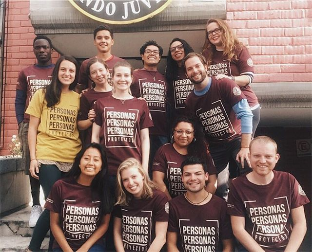 """Training is over and the interns are ready to start their 10 weeks of ministry with teams and local sites!  Our theme this summer is ""People Over Projects"". So excited to serve alongside this incredible and diverse group of people. Vamos con todo! "" -Daniela Pojmaevich QQ Director"