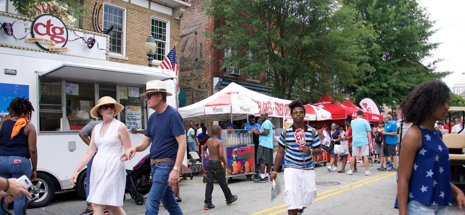Food Vendors Fun Fourth Gso