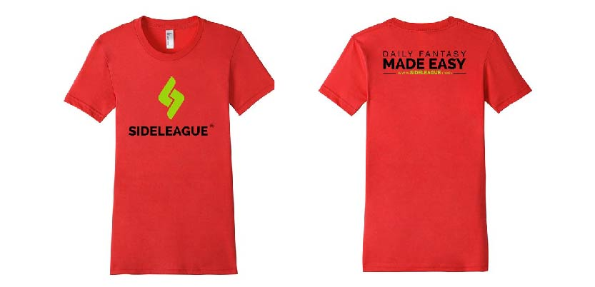 SideLeague: Fitted T-shirt (more colors available).