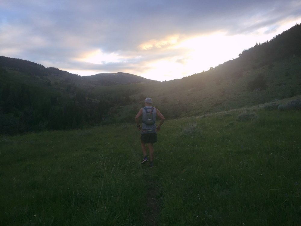 That one time I walked uphill for 6 hours during a 100 mile race.  #forcedpacing
