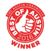 Two Hives Honey wins a 2016 Austin Chronicle Best of Austin Award