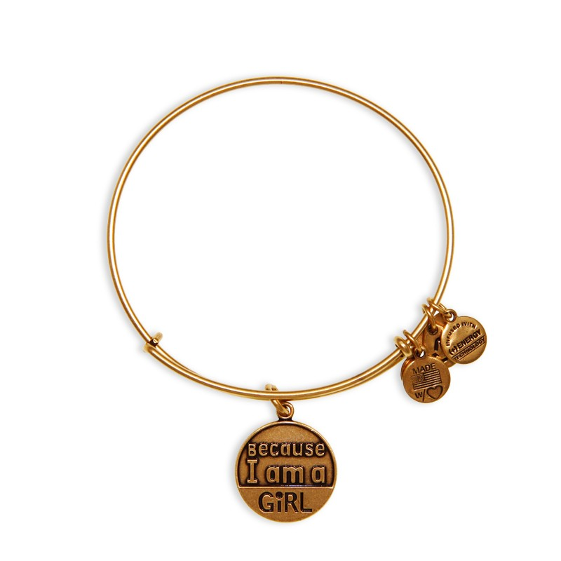 Because I'm a Girl Bangle $28