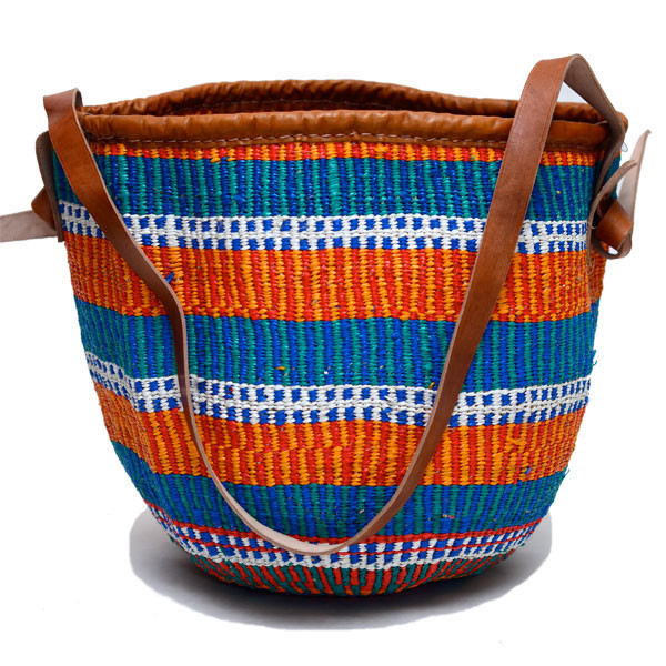 Woven Basket Tote $70