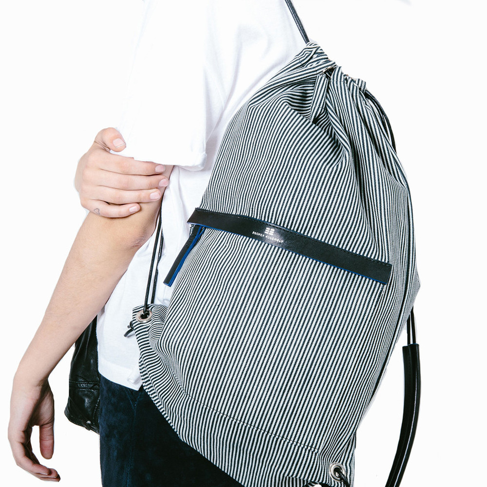 Cinch Backpack by Proper Assembly $125