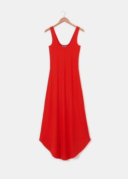 Groceries Organic Cotton/Hemp Maxi Dress $114