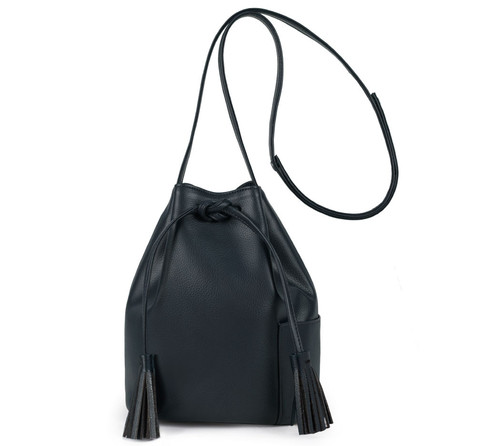 Nikki Reed x Freedom of Animals Vegan Bucket Bag $180