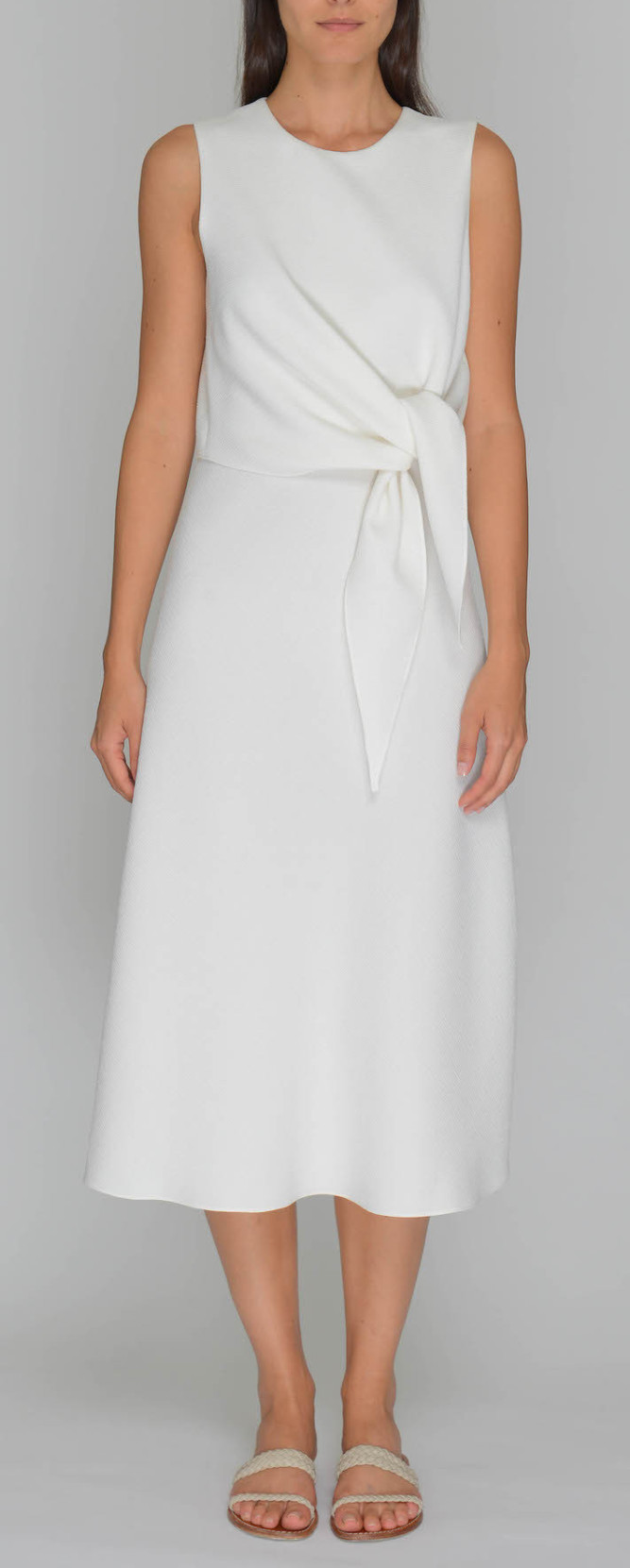 Svilu Crepe Dress $475