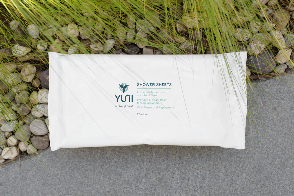 Yuni Shower Sheets $12
