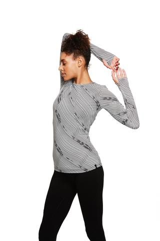 SATVA LONG SLEEVE TEE $48