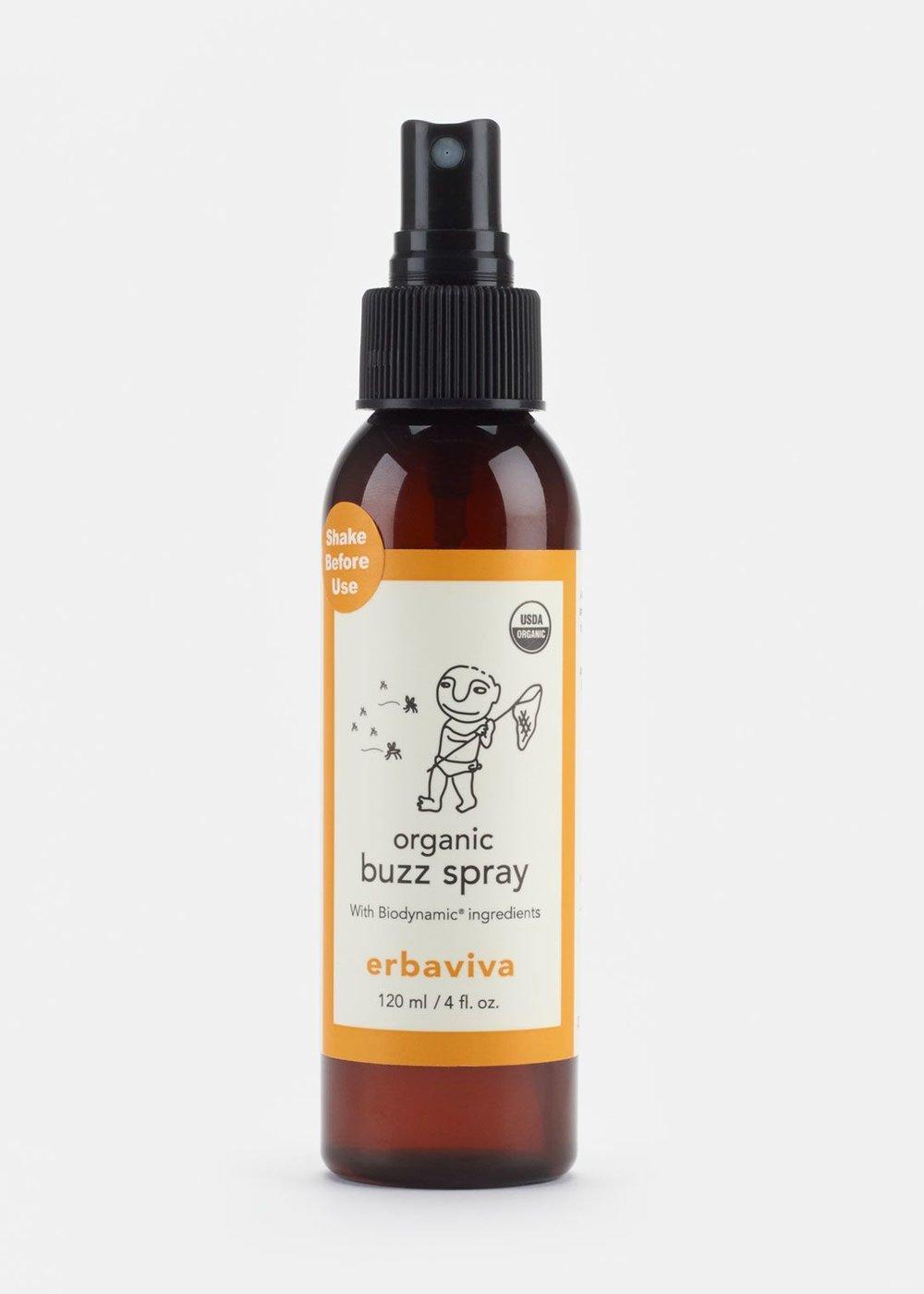 Organic Bug Repellent by Ebraviva $21