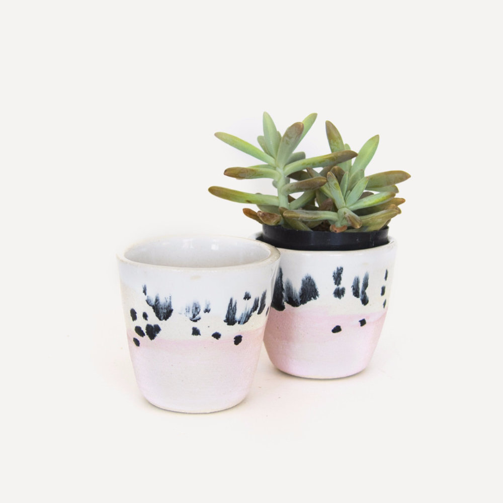 Om Ceramic Pot $28 (Plant sold separately)