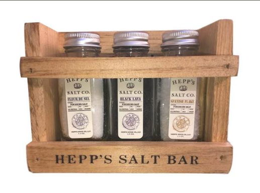 Hepp's Salt Co' Finishing Salt Collection $25