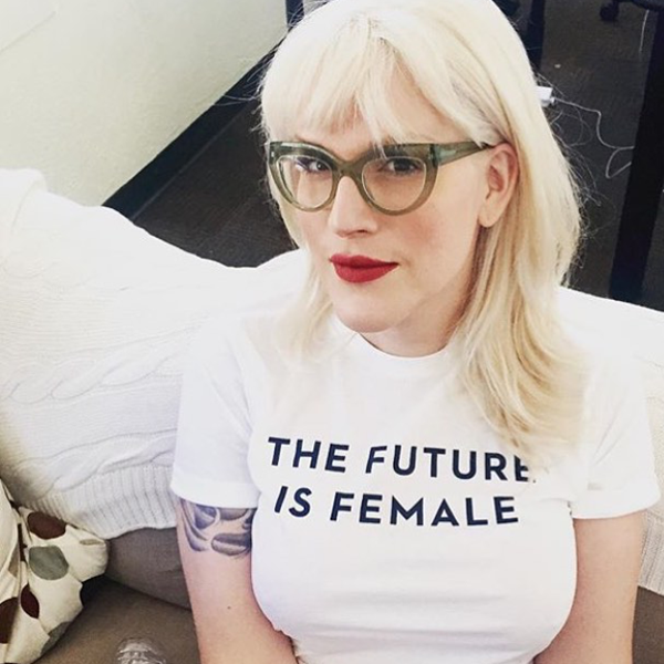 Other Wild The Future is Female Tee $30
