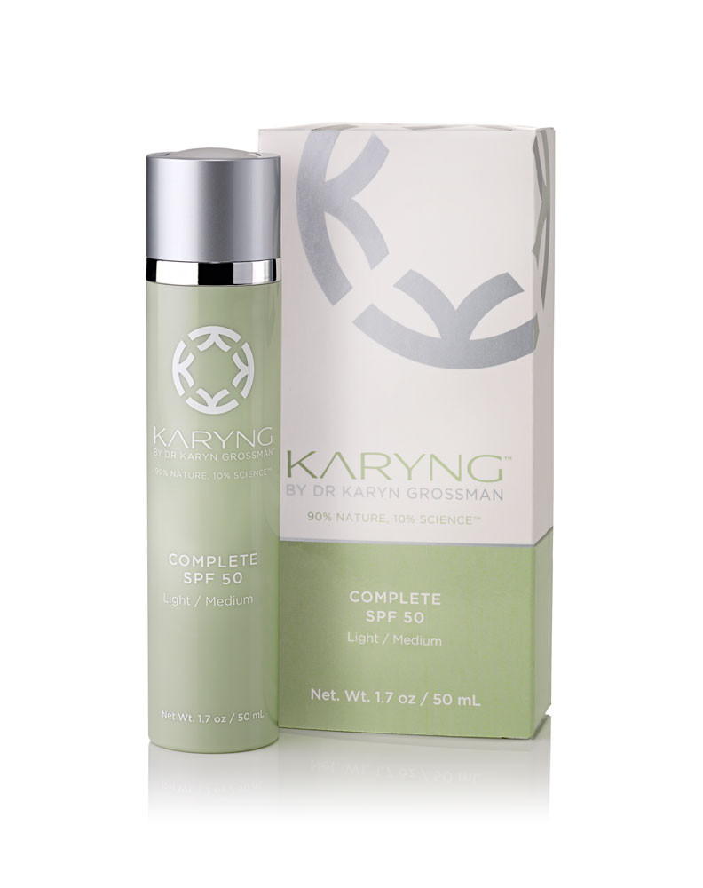 KARYNG Broad Spectrum Complete Sunscreen SPF 50 $75