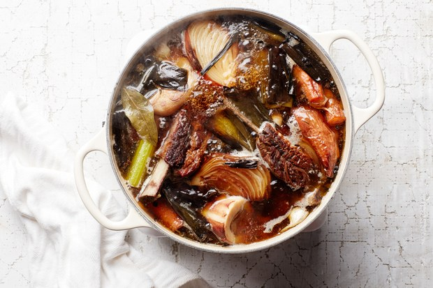 Bare Bones Broth Cookbook $28
