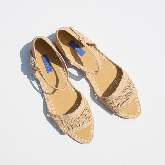 Proud Mary Raffia Sandal $165