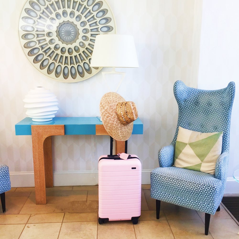 AWAY + PopSugar Carry-On $225