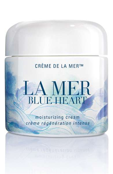 Limited Charity Edition Blue Heart Creme de la Mer $465