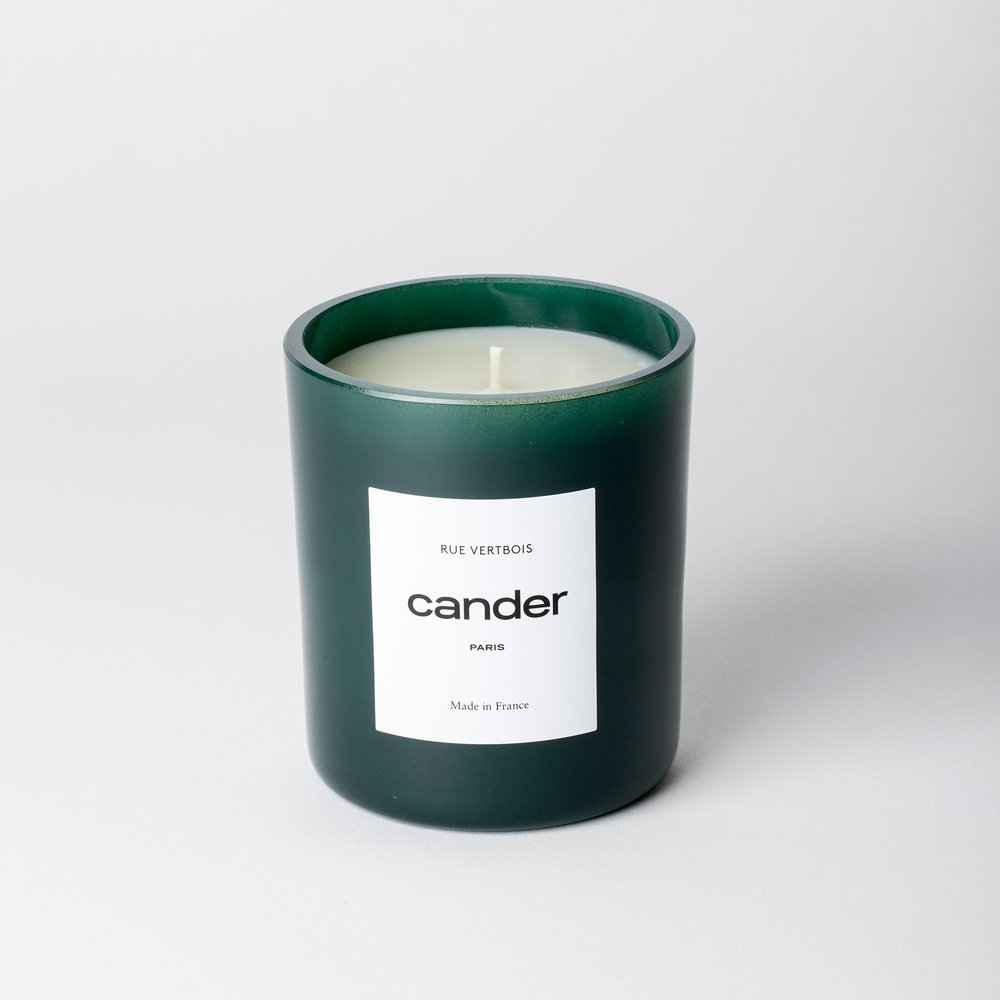 "Cander Paris Candle in ""Rue Vertibois"" $85"
