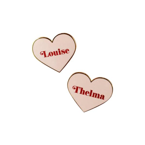 21 girl powered valentines day gifts for yourself your besties thelma louise bff pins 15 solutioingenieria Gallery