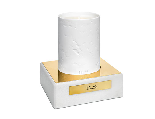 12.29 Porcelain Candle in Vivid & Wild Beauty $150