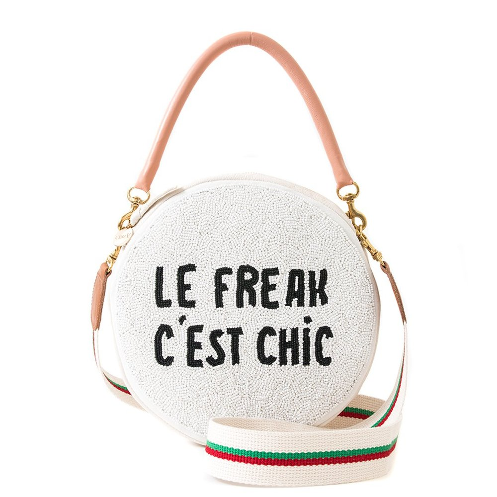 Clare V Beaded Le Freak Crossbody $315