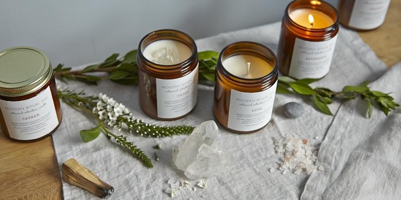 Modern Ritual Lavender-Sage Trust Candle $18