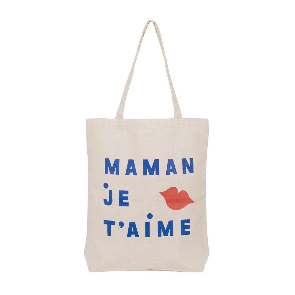 """Clare V """"Maman Je T'aime"""" Tote $45"""