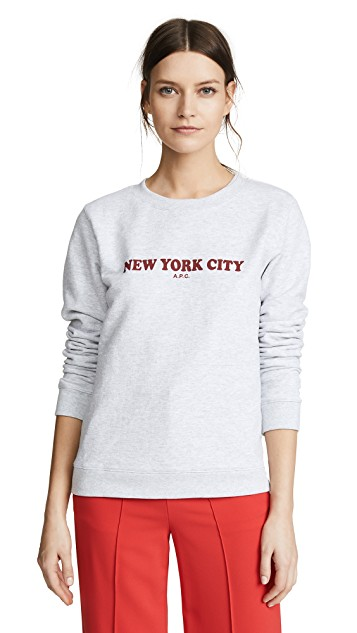 APC NYC Sweatshirt $135