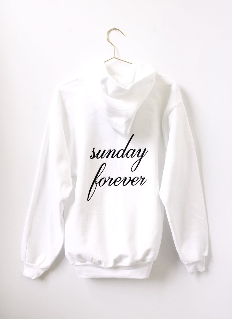 Sunday Forever Hoodie $68