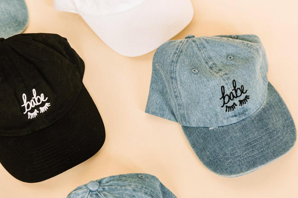Style Club Denim BABE hat $12