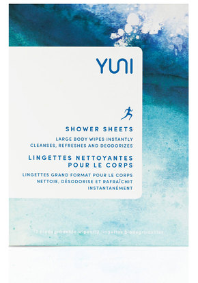 Yuni Beauty Shower Sheets Body Wipes $15 for 12