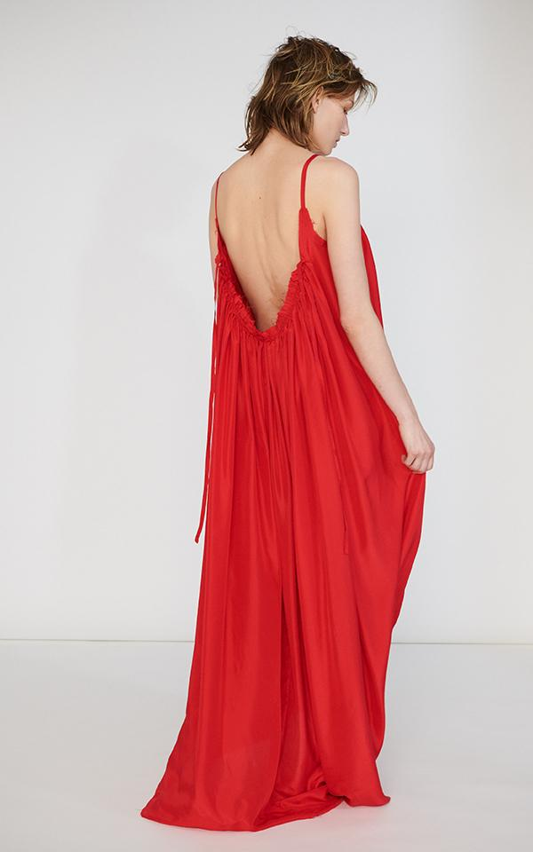 Loup Charmant Silk Gather Maxi $795