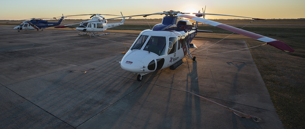 Sikorsky S-76D & Bell 412EP