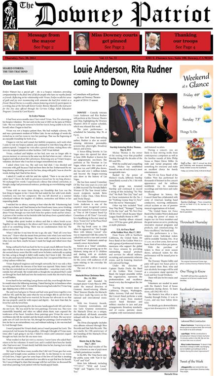 Vol. 13, No. 32, November 20, 2014