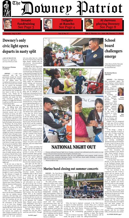 Vol. 12, No. 17, August 8, 2013