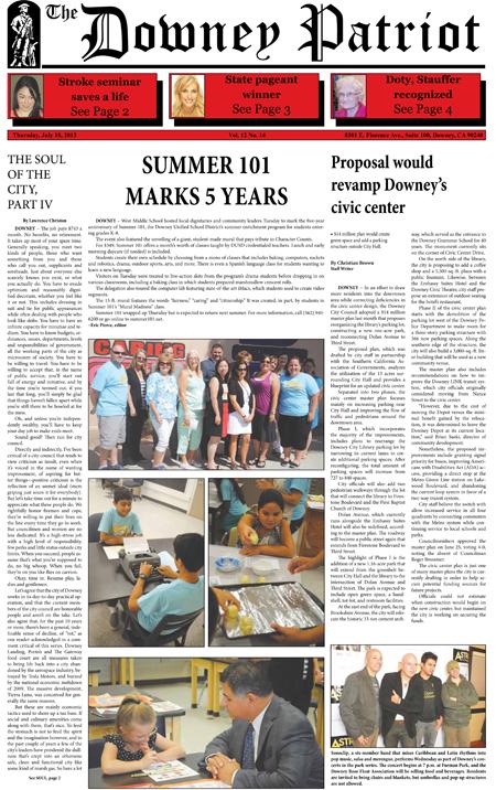 Vol. 12, No. 14, July 18, 2013