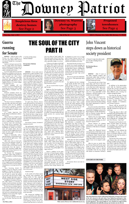 Vol. 12, No. 12, July 4, 2013