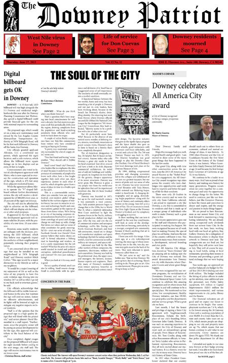 Vol. 12, No. 11, June 27, 2013