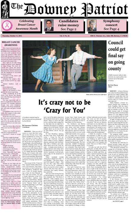 Vol. 11, No. 26, October 11, 2012