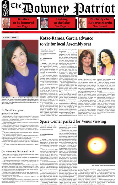 Vol. 11, No. 8, June 7, 2012