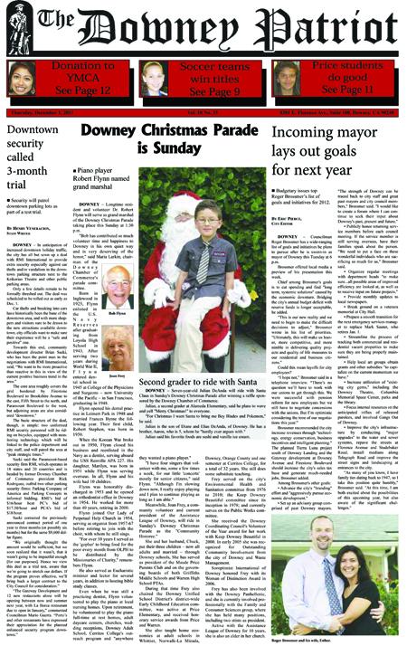 Vol. 10, No. 33, December 1, 2011