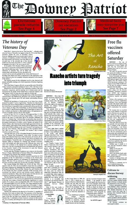Vol. 10, No. 30, November 10, 2011