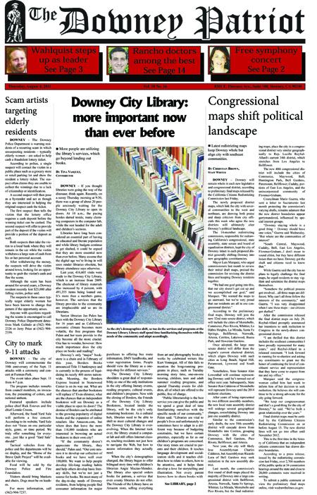 Vol. 10, No. 16, August 5, 2011