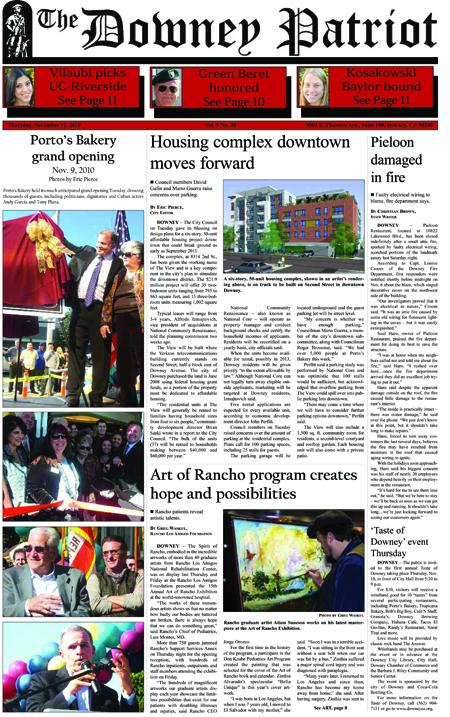 Vol. 9, No. 30, November 11, 2010