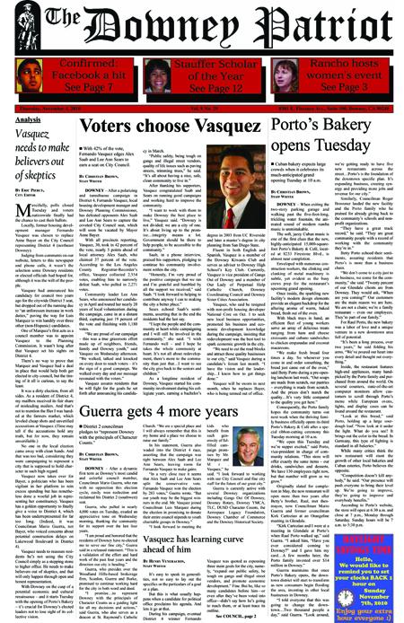 Vol. 9, No. 29, November 4, 2010
