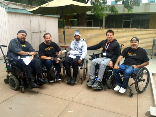 Richard Bell, Carlos Benavides and Ray Pizarro started Pushrim, a social network and resource center for people with spinal injuries, in 2009.