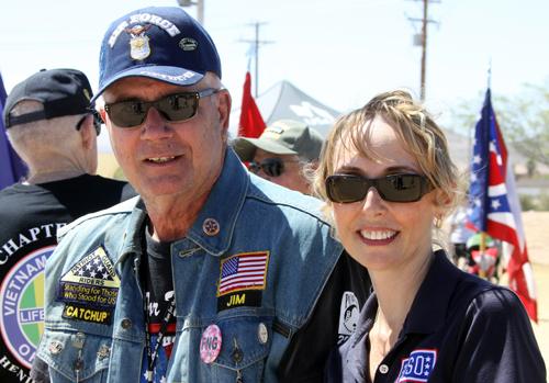 Jim Wilson and his daughter, Kristen Ramirez