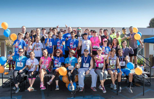 Last Saturday's Downey TLC 5K attracted hundreds of runners and walkers.