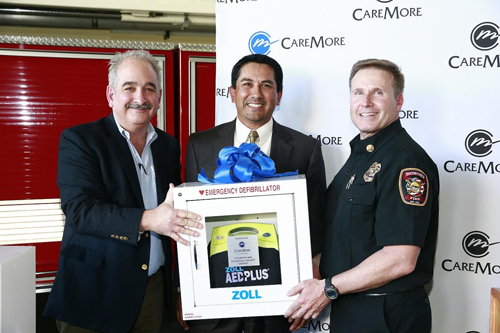 CareMore Event at Downey Fire Station, Downey, CA.